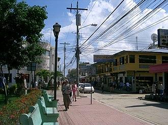 Tela - Tela main street and park