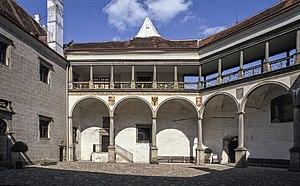 Telč - Image: Telc Castle, First Court