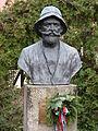 Teleki Sámuel szobra a Magyar Földrajzi Múzeum parkjában.JPG