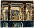 Tempio di Vulcano e sotterraneo, bozzetto di Girolamo Magnani per Aida (1872) - Archivio Storico Ricordi ICON000142.jpg