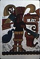 Temple of the Jaguar. 2B. Block print of warrior.jpg