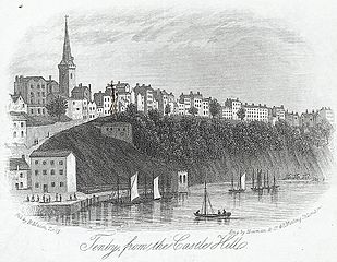 Tenby, from the Castle Hill