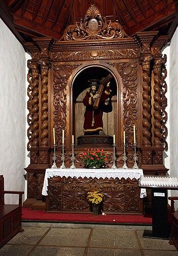 Tenerife Icod de los Vinos church H