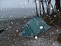 Tent in the Snow - geograph.org.uk - 1200871.jpg