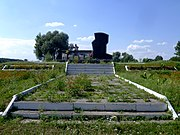 Tereshkivtsi Gorokhivskyi Volynska-Monument fellow-villagers who fell for the Ukraine during WWII-general view.jpg