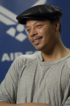 English: Oscar-nominated actor Terrence Howard...