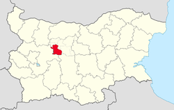 Teteven Municipality within Bulgaria and Lovech Province.