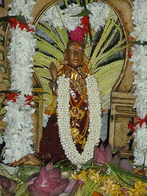 Kannaki Amman -  Amman Idol at Thambiluvil Sri Kannaki amman temple
