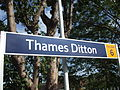 Thames Ditton stn signage 2012.JPG