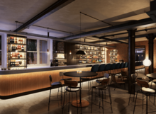 Bar render at The Ministry, 79 Borough Road