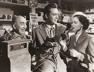 The Admiral Was a Lady - Fred Essler, Edmond O'Brien and Wanda Hendrix in The Admiral Was a Lady