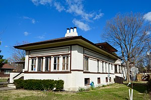 National Register of Historic Places listings in Cook County, Illinois - Image: The Akin House