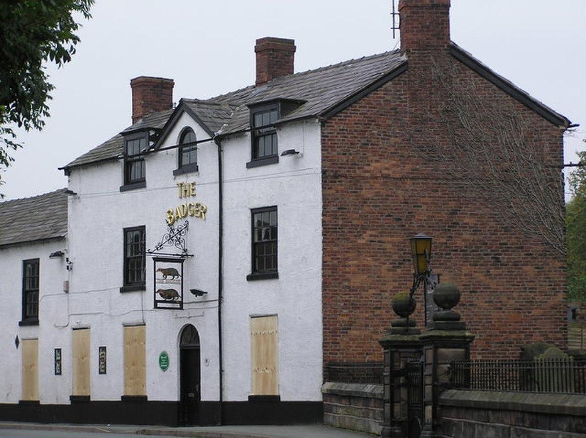 The Badger, Church Minshull - geograph.org.uk - 272691.jpg