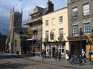 Bridge Street, Cambridge - Image: The Baron of Beef geograph.org.uk 786028