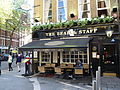 The Bear & Staff pub, Bear Street, London 2.JPG