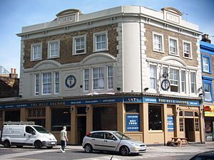 The Blue - Image: The Blue Anchor, The Blue (Sep 2012)