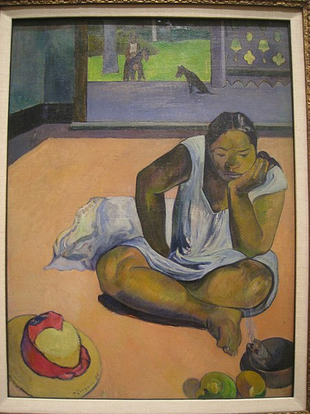 File:The Brooding Woman, 1891, by Paul Gauguin (1848-1903) - IMG 7191.JPG