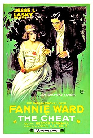 The Cheat (1915 film) - Image: The Cheat Film Poster