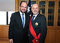 The Chilean Foreign Minister, Alfredo Moreno, with Massimo Tarenghi (9329280221).jpg