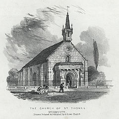 The Church of St. Thomas, Monmouth