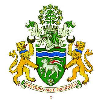 Coat of arms of Calderdale - Image: The Coat of Arms
