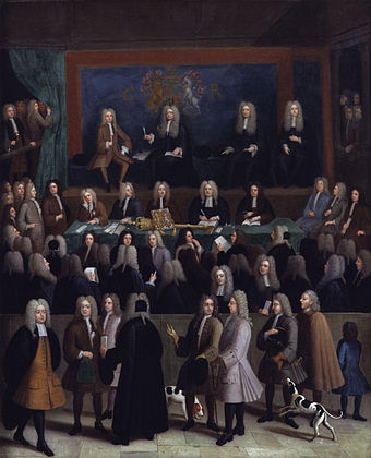 The Court of Chancery, England's only other dedicated court of equity after the English Civil War