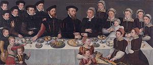 Balthazar de Moucheron - De Moucheron family (1563)
