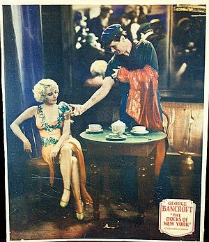The Docks of New York - Lobby card for The Docks of New York