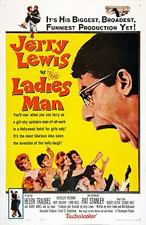 <i>The Ladies Man</i> 1961 film by Jerry Lewis
