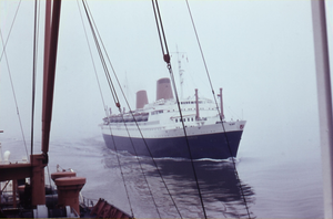 The North German Lloyd liner Europa III on the Outer Weser - 1966.png