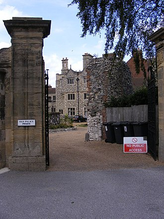 Old Palace, Canterbury - Entrance to the Old Palace