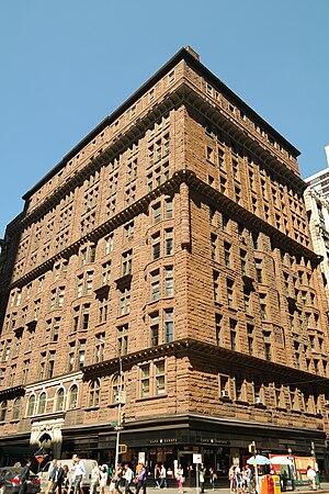 Osborne Apartments - Image: The Osborne Apartments, NYC, September 2015