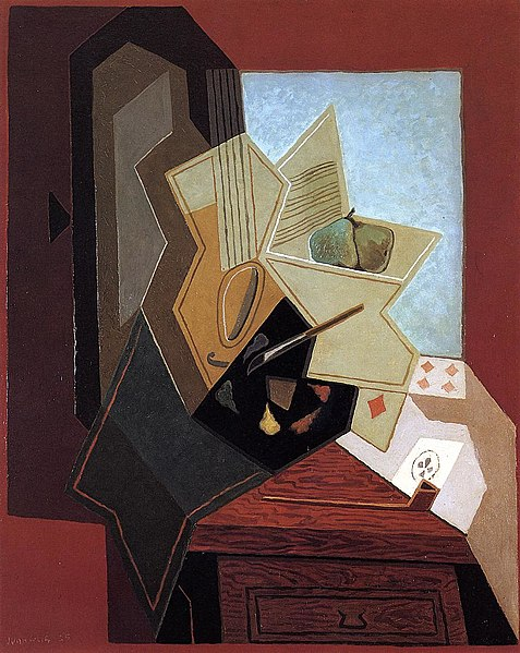 Fișier:The Painter's Window Juan Gris.jpeg
