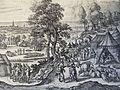 The Phillip Medhurst Picture Torah 160. Jacob pursued by Laban. Genesis cap 31 v 22. Borcht.jpg