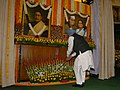 The Prime Minister, Dr. Manmohan Singh paying tributes at the portraits of Joachim & Violet Alva and Bipin Chandra Pal, in New Delhi on December 05, 2007.jpg