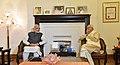 The Prime Minister, Shri Narendra Modi calls on Advani Ji to greet him on his birthday, in New Delhi on November 08, 2017 (1).jpg