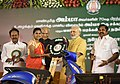 The Prime Minister, Shri Narendra Modi launches the Amma Two Wheeler Scheme, at Kalaivanar Arangam, in Chennai (1).jpg