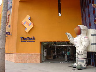 The Tech Museum of Innovation - The Tech during the Magnificent Desolation: Walking on the Moon exhibit, 2010.