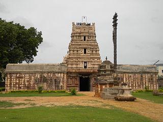 Nandalur Village in Andhra Pradesh, India