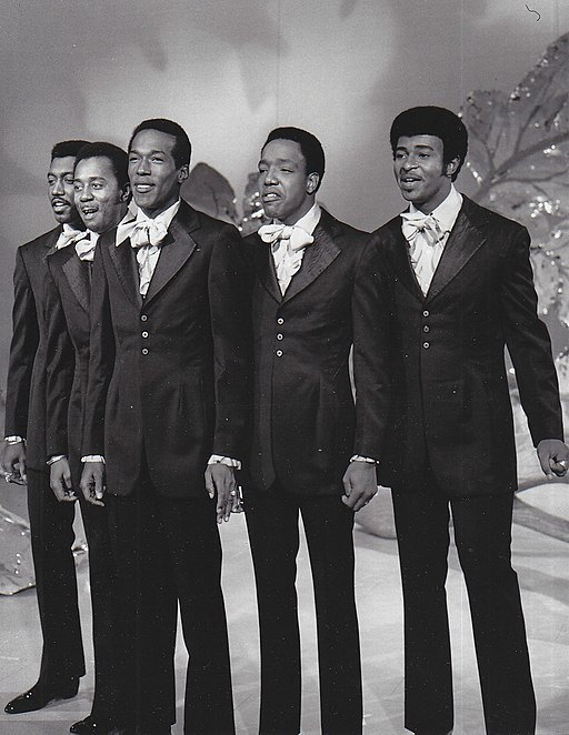The Temptations on the Ed Sullivan Show