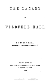 Title-page of the first American edition, 1848
