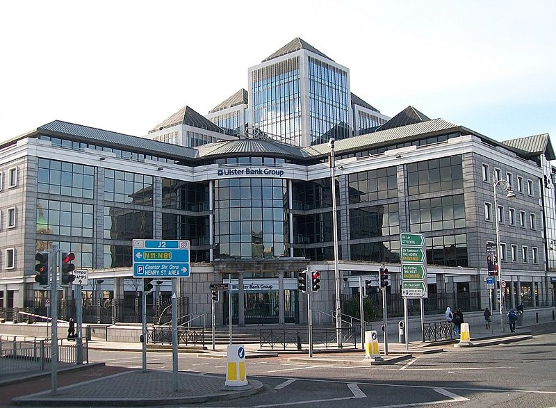 The Ulster Bank Group HQ, George%27s Quay Plaza - geograph.org.uk - 1743476.jpg