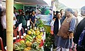 The Union Minister for Agriculture and Farmers Welfare, Shri Radha Mohan Singh visiting the Regional Agriculture Fair 2016-17, at Central Agriculture University, in Imphal, Manipur on November 10, 2016.jpg