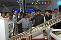 The Union Minister of Chemicals & Fertilizers and Steel, Shri Ram Vilas Paswan visits after inaugurating the Steel Pavilion at the India International Trade Fair-2008, in New Delhi on November 14, 2008.jpg