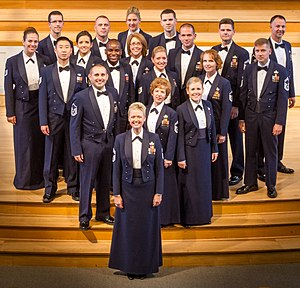 United States Air Force Band - The Singing Sergeants is the official chorus of the United States Air Force.