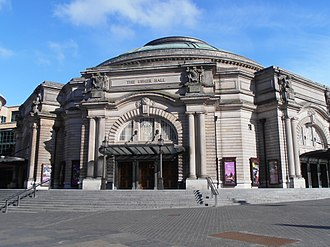 Usher Hall - The Usher Hall as seen from Lothian Road