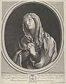 The Virgin in prayer looking up to the left, in an oval frame, after Reni MET DP841775.jpg