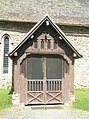 The church porch at St Peter, Rushbury - geograph.org.uk - 1446183.jpg