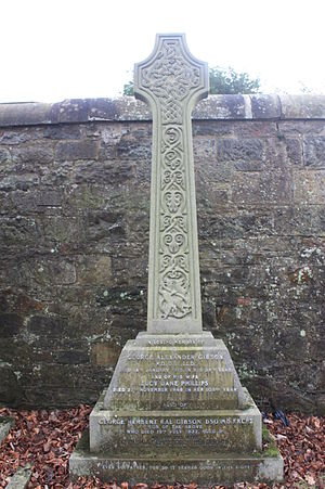 George Alexander Gibson - The grave of George Alexander Gibson, Dean Cemetery