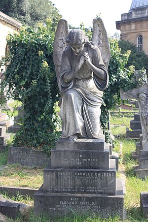 Hugh Childers - The grave of Hugh Childers, Brompton Cemetery